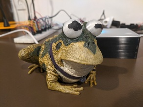 Motion-Triggered Hypnotoad with Sound