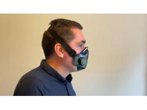Airtight TPU Mask against COVID-19 - Masque étanche TPU contre le COVID-19