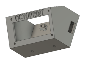 2020 frame mount for Raspberry Pi Zero W + LCD 2x16 + LM2596 Buck Converter for Ender 5 Plus