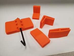 plexiglass holder clips for 3D printer enclosures
