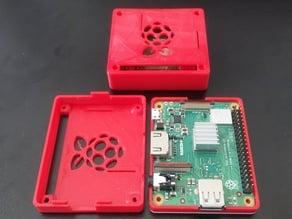 Raspberry Pi 3 A+ Case (remix from tvarok)
