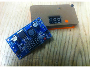 DC-DC LM2596 Enclosure with features