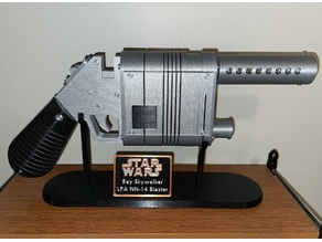 Display Stand & Screws/pins for Rey Blaster by Flannery42