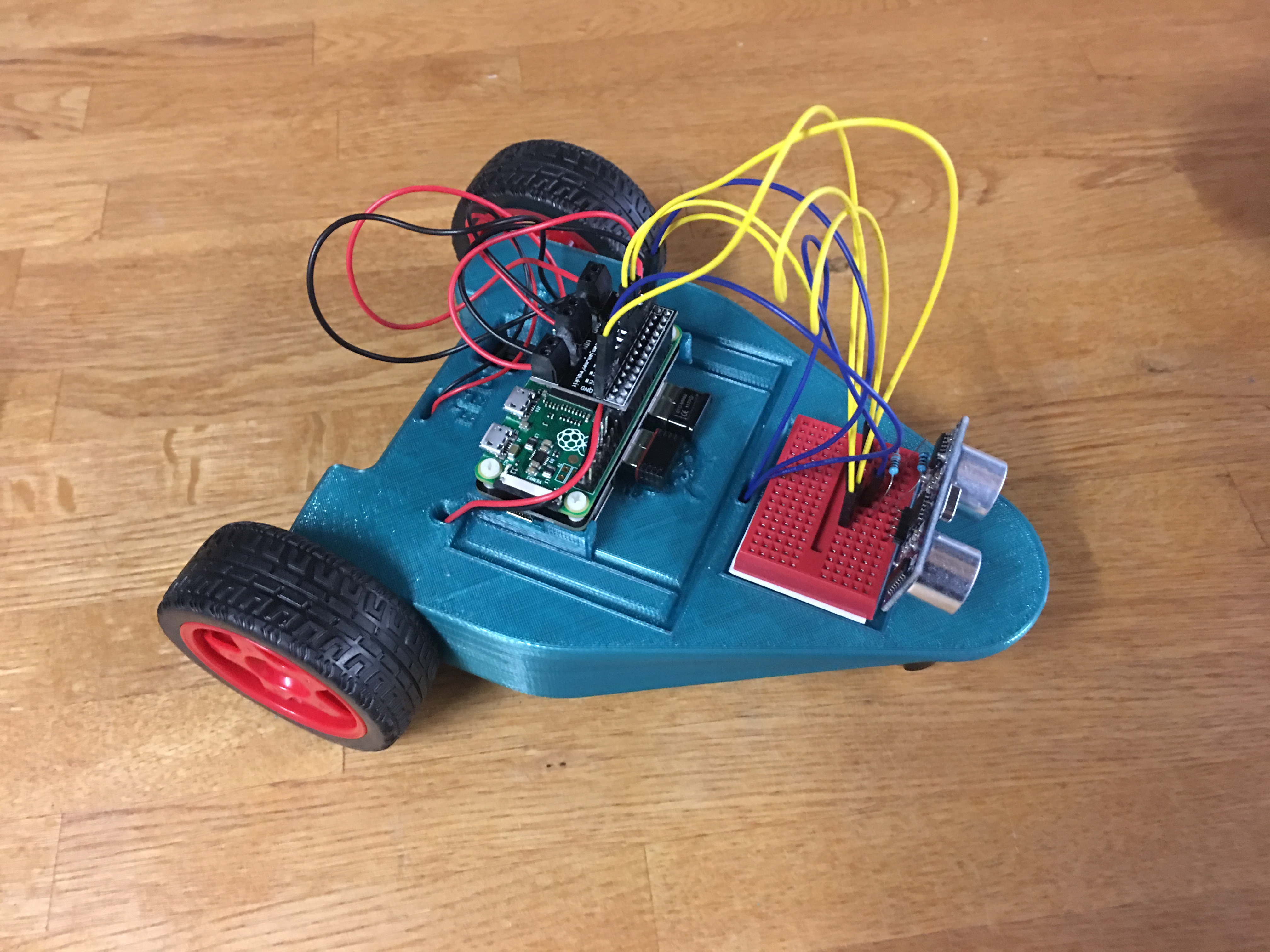 CamJam EduKit #3 Robot Chassis for the Raspberry Pi by Aftakas