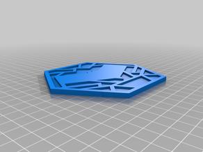 Batman/Red Hood Coaster/Emblem