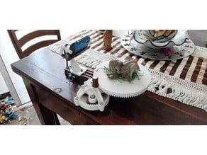 Tavola rotante per fotogrammetria (turntable for photogrammetry) Meshroom