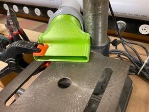 Dust extraction nozzle