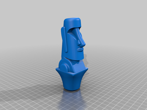 Easter Island Moai Topper ($7 Cane/Walking Hiking Sticks)