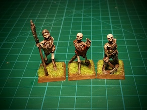 Skeletons! 28mm (No supports needed)