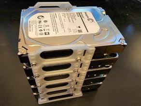 Stackable Hard Disk Holder, Short Version