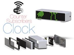 Clock, Counter  Subscribers.