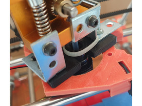 Hot End holder for J Head and E3D V6