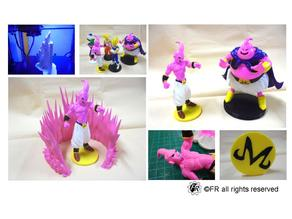 Dragon Ball-Majin Buu Bottom / 七龍珠-小魔人普烏 底座
