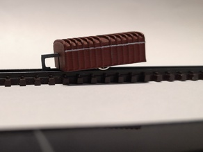 Single axle trailer VB 141 n-scale