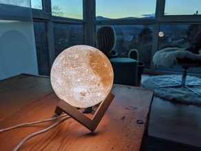 Moon Lamp (LED Strip Mount WS2812B)
