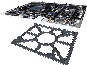 mATX Motherboard Mounting Plate