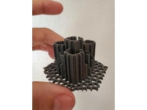 510 thread device holder