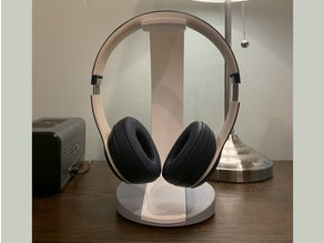 Headphone Stand with Weighted Base