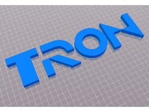 Tron logo 1984