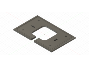 Sensi Touch Thermostat Mount Plate