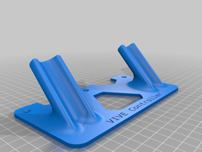 HTC Vive Controller Wall Mount - (Save Material Remix)