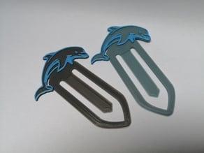 Dolphin Bookmark