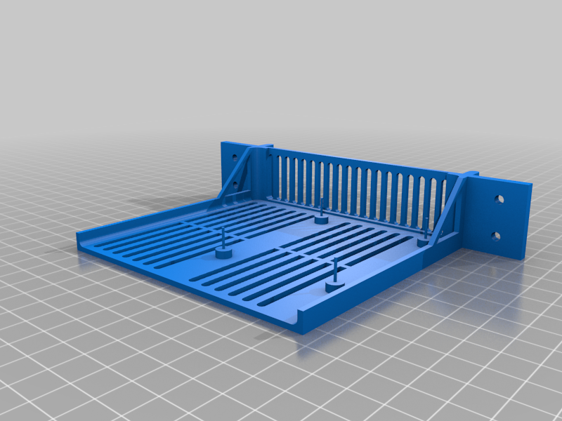 6 inch rack case for Raspberry PI with stick