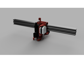 D-Bot Bondtech BMG Carriage for E3D Volcano (3 Wheeled Variant)