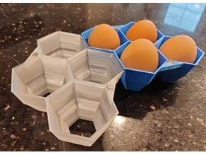 Modular, Magnetic, Customizable Egg Cartons