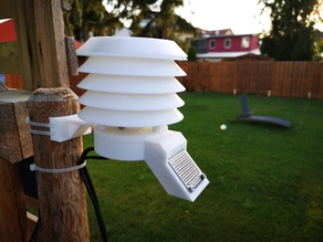 Rain Sensor Holder for Weather Station