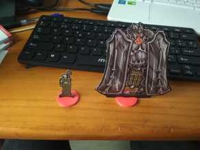 Bases for printed minis