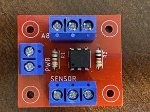 universal/safe way for NPN-Sensor. With Optocoupler