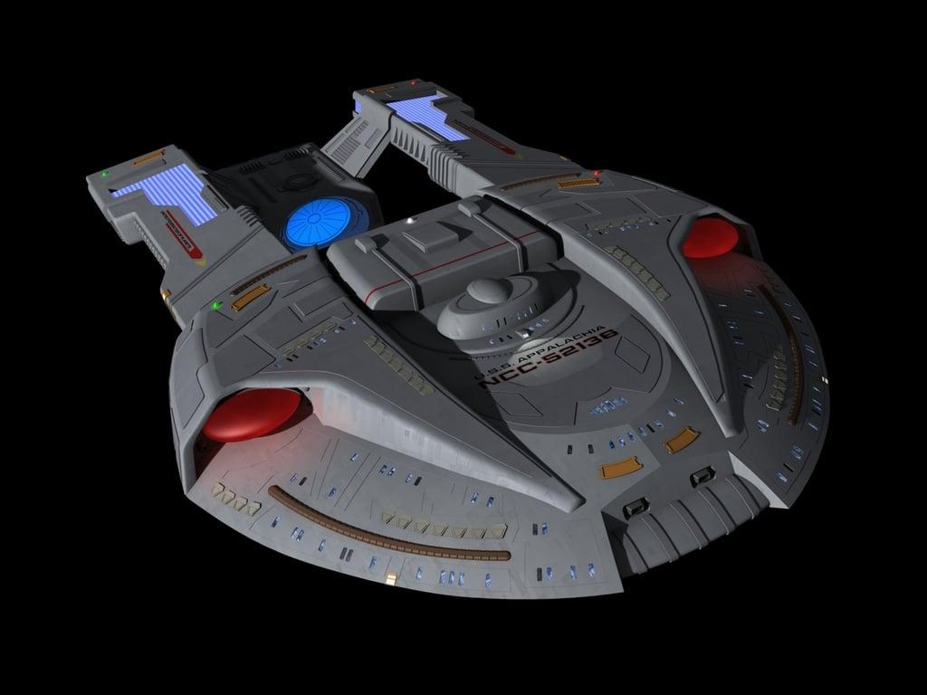 Steamrunner Class Starship