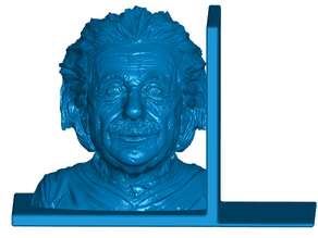 Einstein Bookends (Left and Right)