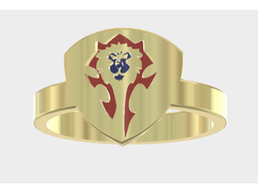 Horde Alliance Mashup Ring