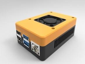 Raspberry Pi 4 Case with Fan