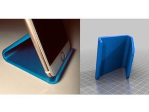 Phone holder Phone stand - print on side