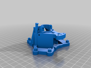 RostockMax E3D with fan mount
