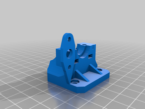 3D-touch and bowden hotend mount for Geeeteck i3