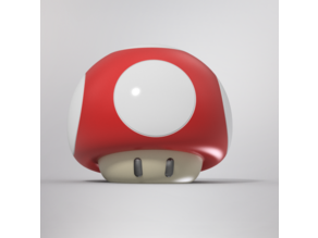 Super Mario 1up Level Up Mushroom