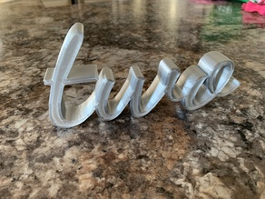 """""""two"""" Cake Topper/Decoration For 2nd Birthday"""