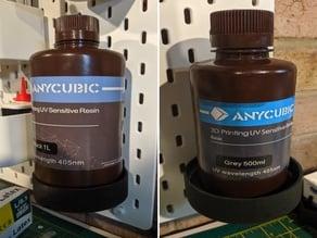 AnyCubic Resin Bottle Holder - Skadis Pegboard