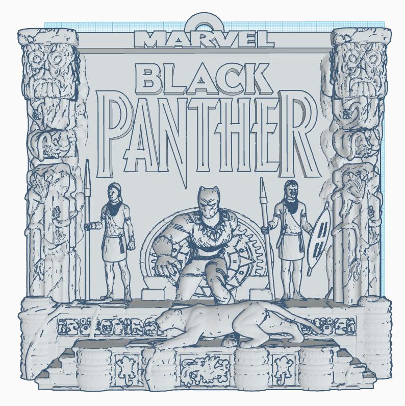 Black Panther frame