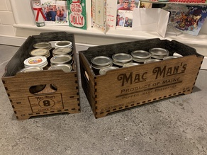 Canning Jar crate