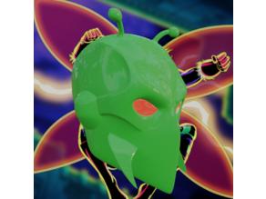 Killer Moth Inspired Helmet
