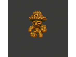 Zombie mushrooms (Halloween Month post 5)