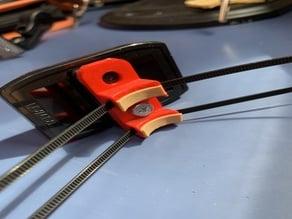 Zip-tie bike reflector