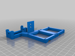 Anycubic I3 Mega - Mosfet Mount [ for printers with stepper motor fan ducts fitted]