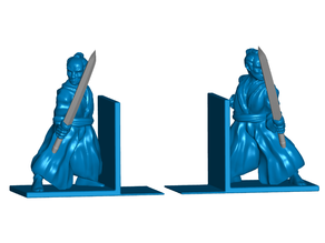 Samurai Bookends (Left and Right) - No Supports