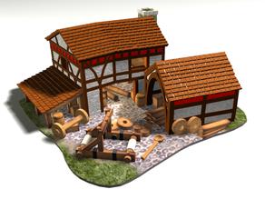 AOE2 Style Siege Workshop 1